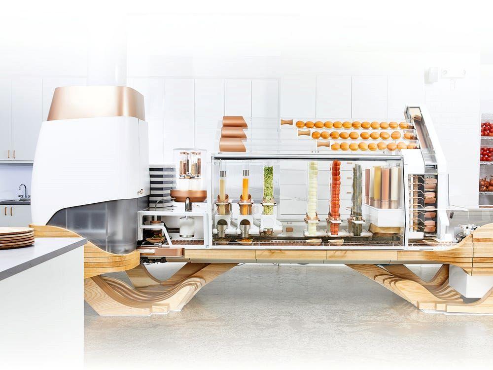 Burger robiony przez roboty - Creator