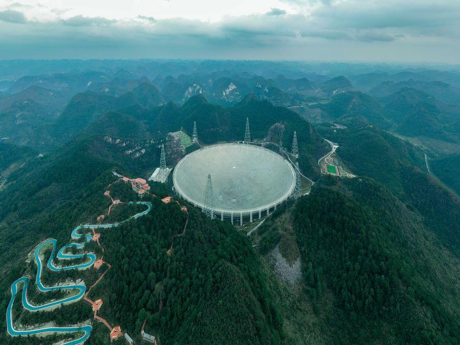 Chiński radioteleskop FAST