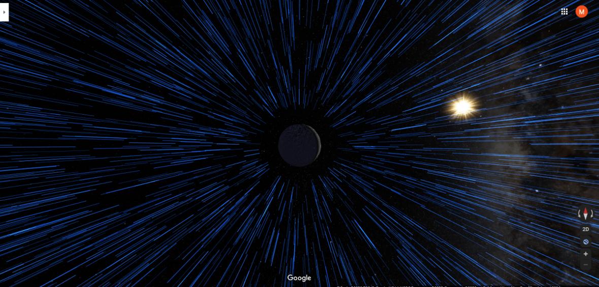 Mapy Google teraz z trybem podróży z Gwiezdnych wojen. Zwiedzaj kosmos jak Skywalker
