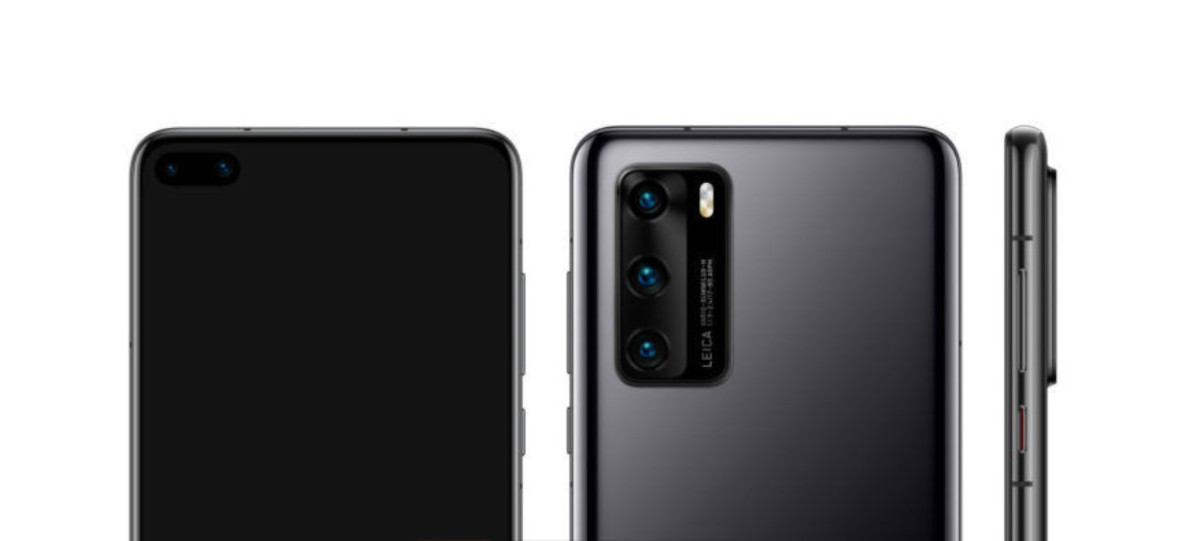 Huawei P40 Pro w całej okazałości na renderach. Odróżnisz od Samsunga?