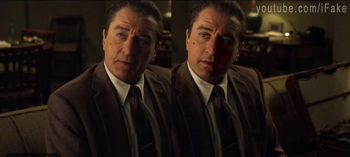 Youtuberzy twierdzą, że odmłodzili De Niro lepiej niż Netflix w Irlandczyku