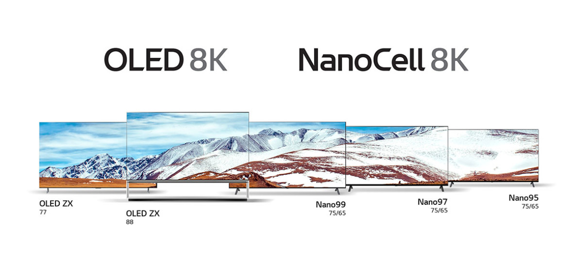 8K, 8K i jeszcze raz 8K. Telewizory LG w tym roku będą nam imponować rozdzielczością