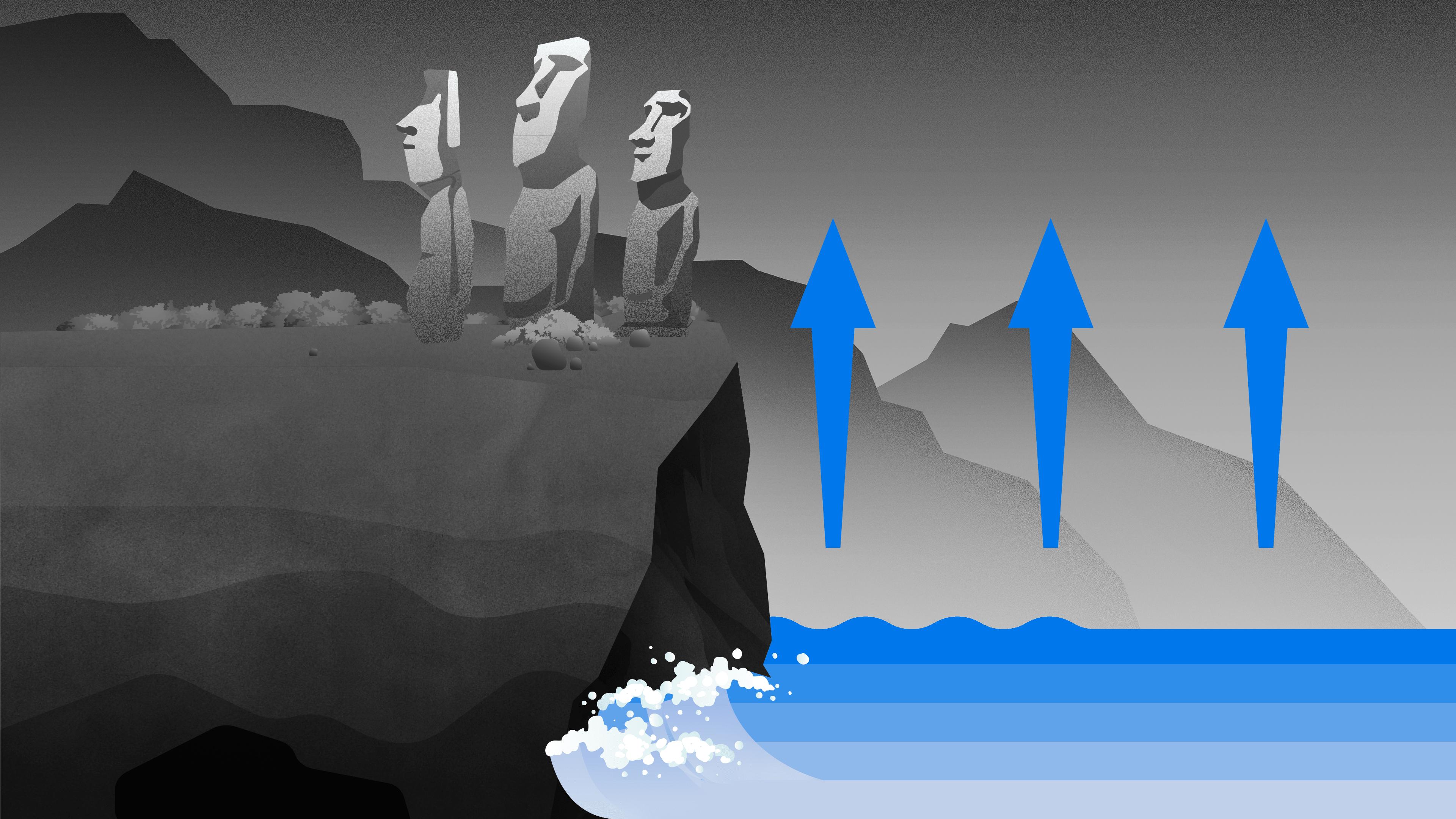 Dziedzictwo na krawędzi posiągi z wyspy wielkanocnej