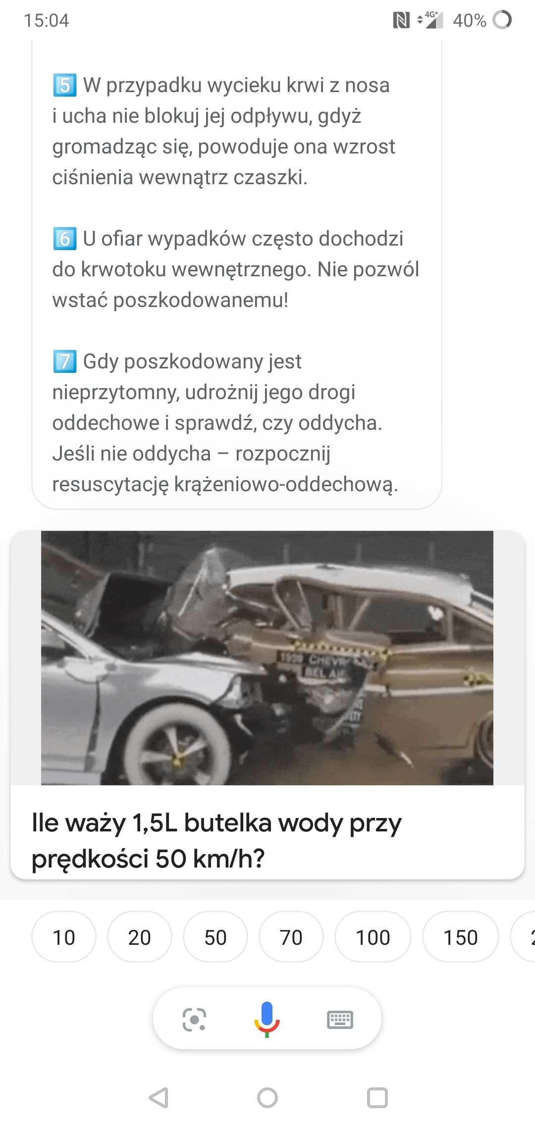 Pierwsza pomoc wypadki drogowe