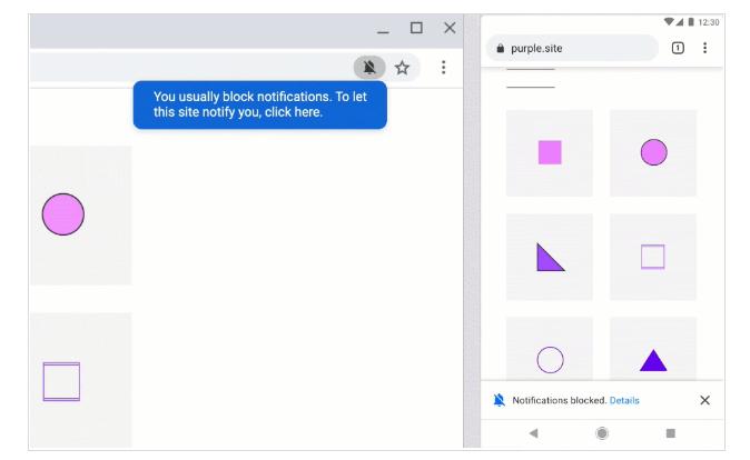 zmiany w Chrome 80 ciche powiadomienia