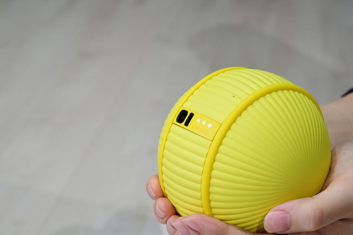 Rozkoszny robocik! Samsung Ballie to mały, żółty przyjaciel twojego smart domu