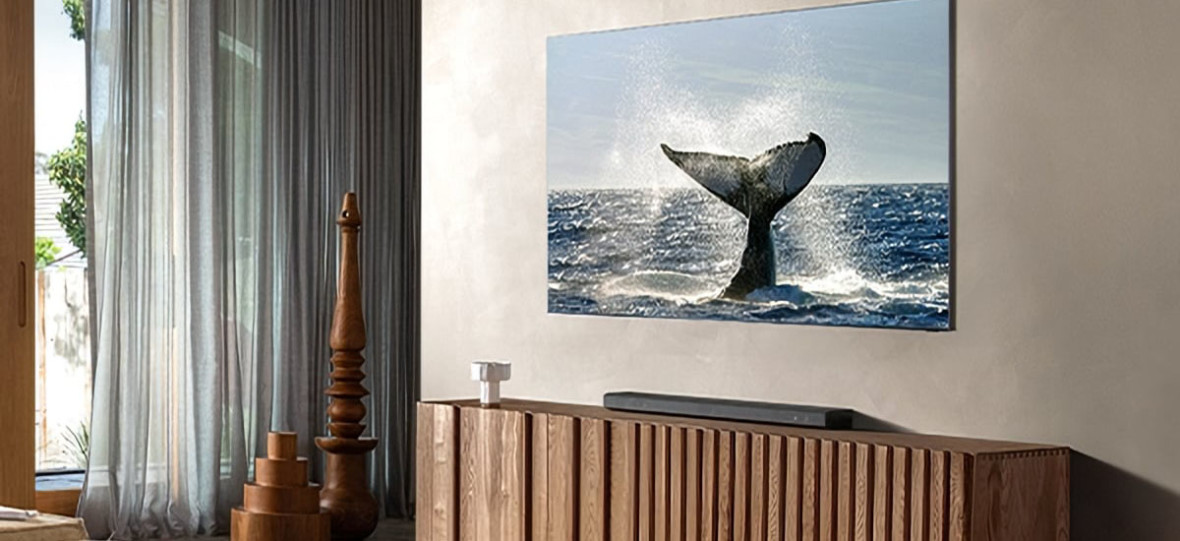 Zwijany ekran wyjeżdżający z sufitu i telewizor bez jakichkolwiek ramek. 2020 r. to czas na nowe TV Samsunga i LG