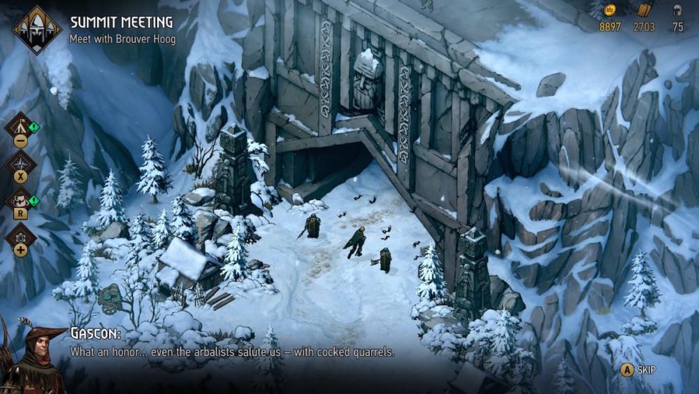 thronebreaker the witcher tales switch wojna krwi wiedzmińskie opowieści nintendo cd projekt red wiedźmin 3 dziki gon