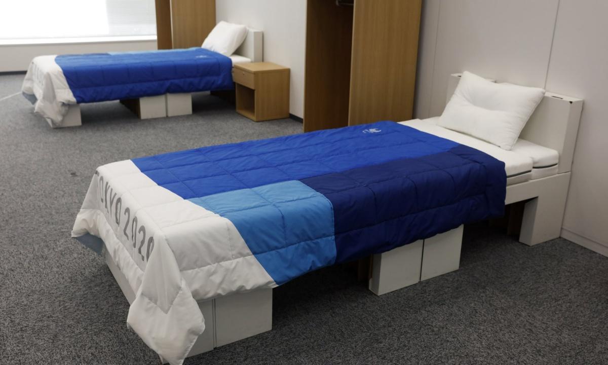 Tokio 2020 - sportowcy zasną na kartonowych łóżkach