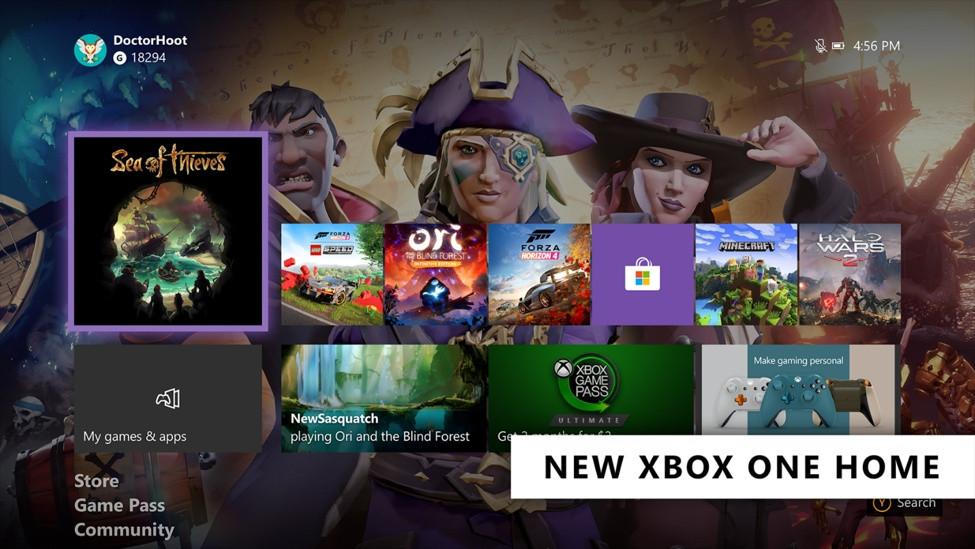 xbox one aktualizacja luty 2020