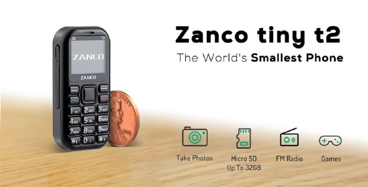 Najmniejszy telefon świata został ufundowany w jeden dzień