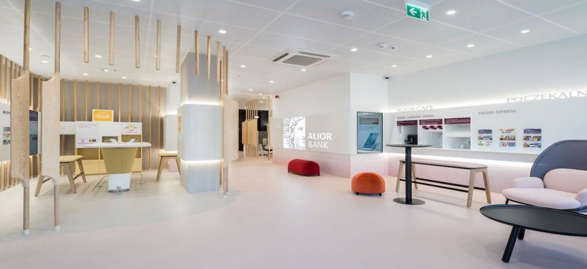 Ekologiczna kawa, stoiska samoobsługowe i strefa digital, czyli Alior Bank zmienia swoje stacjonarne placówki