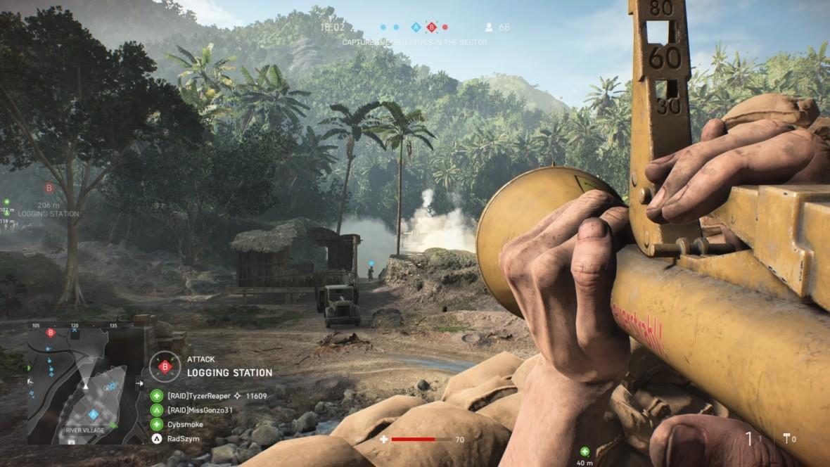 Jungle, welcome to the jungle! Nowa mapa w Battlefield V ma pokazywać wojnę w dżungli, ale wyszedł zagajnik