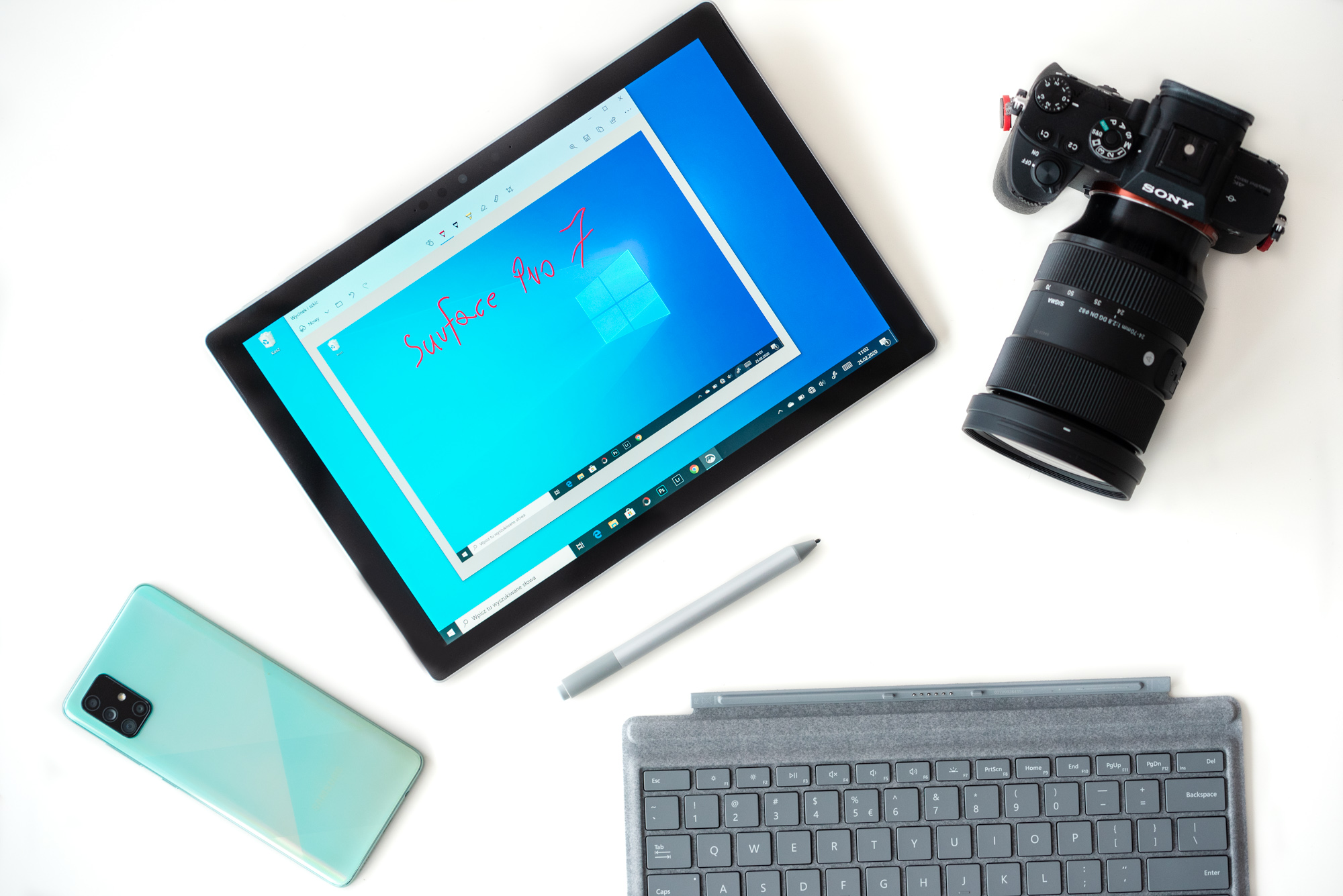 Surface Pro 7 opinie