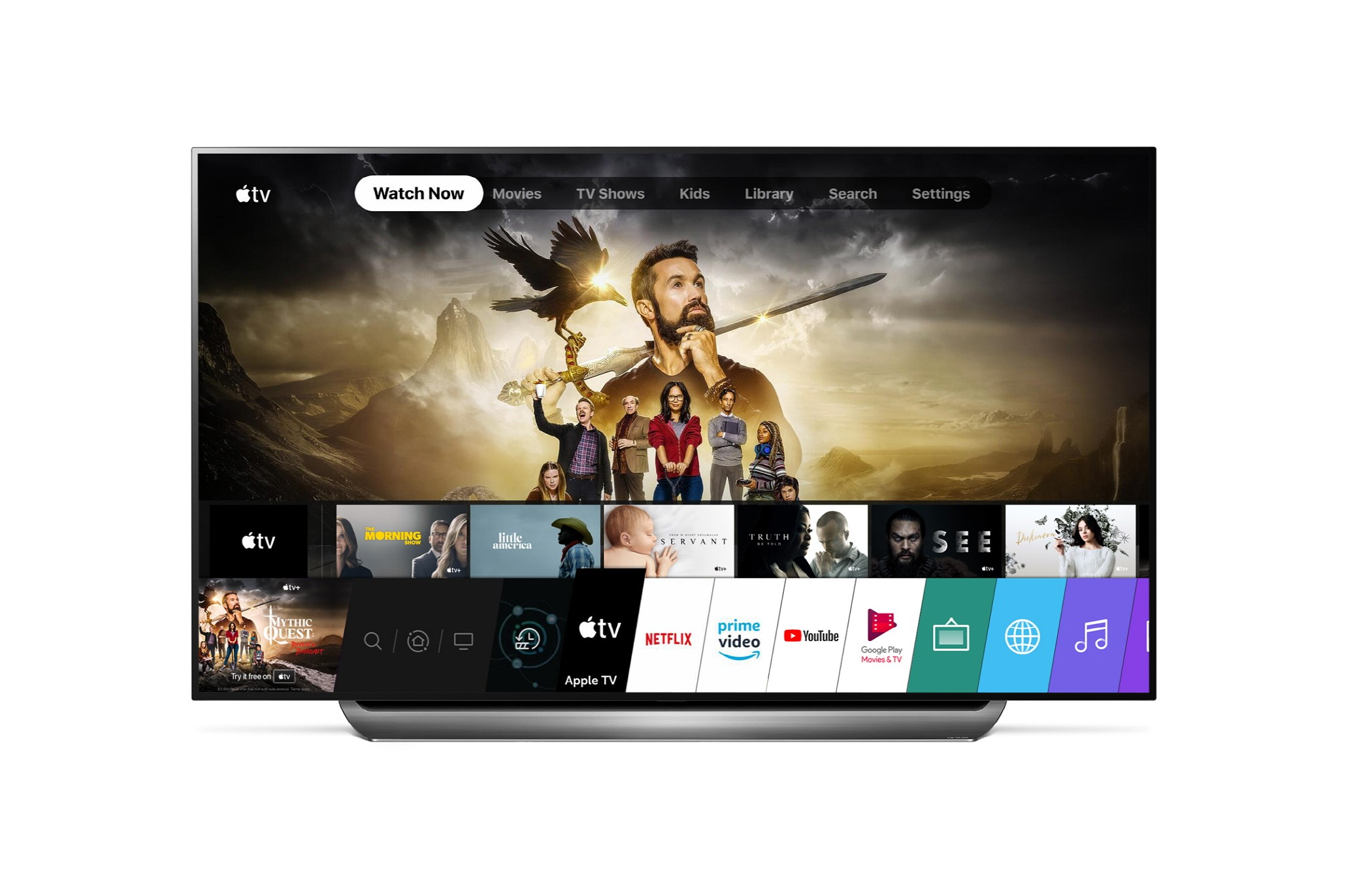 apple tv aplikacja smart tv lg webOS 2