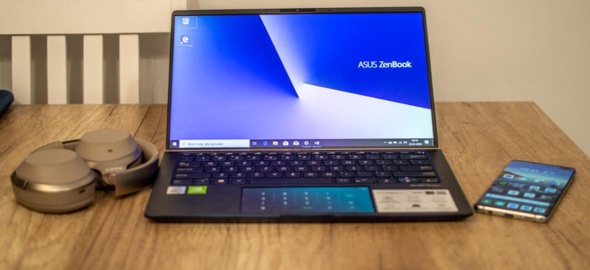 Pisząc ten tekst, oglądałem serial na touchpadzie. Asus ZenBook 14 – recenzja