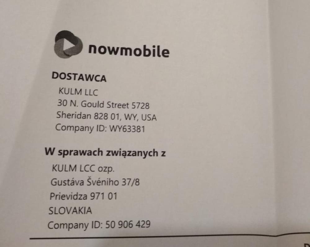 Zdjęcie dokumentu ze sklepu Dragonist opublikowała Karolina na łamach facebookowej grupy Bestcena i Dragonist - poszkodowani przez sklepy bestcena.pl i dragonist.pl