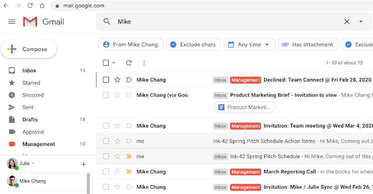 Wyszukiwarka Gmaila stała się jeszcze lepsza