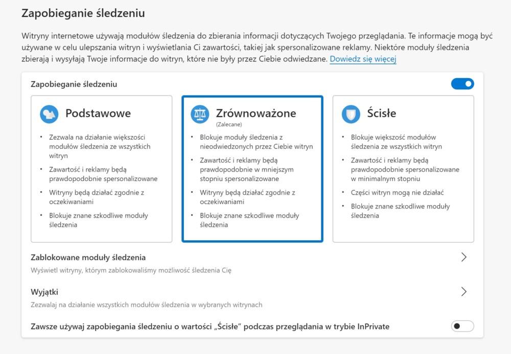 mobilny edge zapobieganie śledzeniu