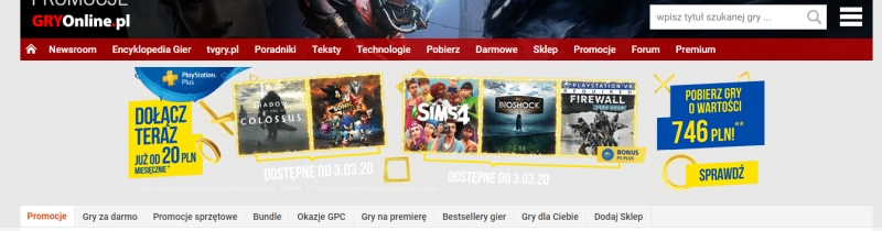 playstation plus ps plus marzec 2020 shadow of the colossus sonic force