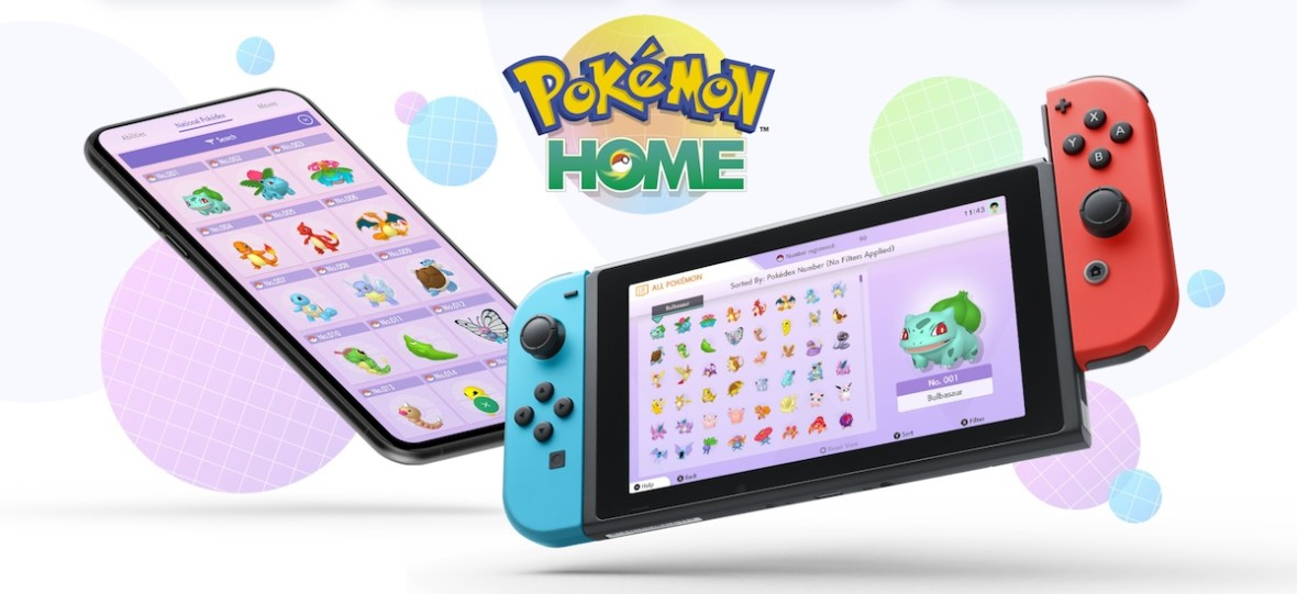 Sprawdziliśmy już Pokemon Home, czyli nowy dom dla Pokemonów w chmurze na Switcha i smartfony