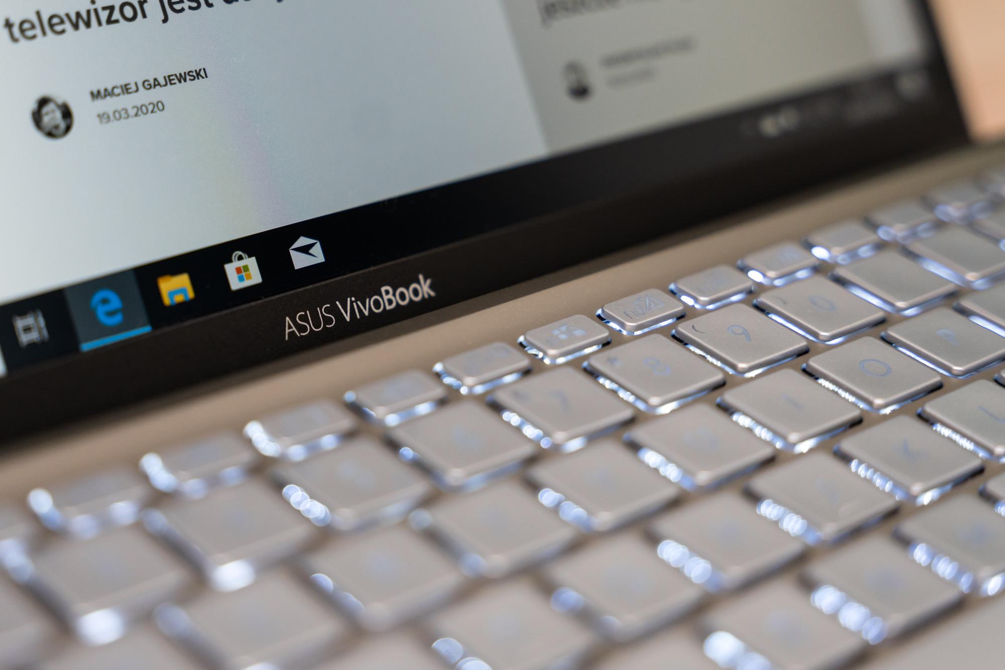 Asus Vivobook S14 opinie
