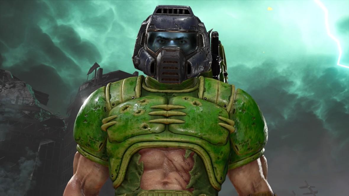 Co Doomguy trzyma na pulpicie i skąd u niego poradnik do Fallouta? Forteca w DOOM Eternal to kopalnia gagów