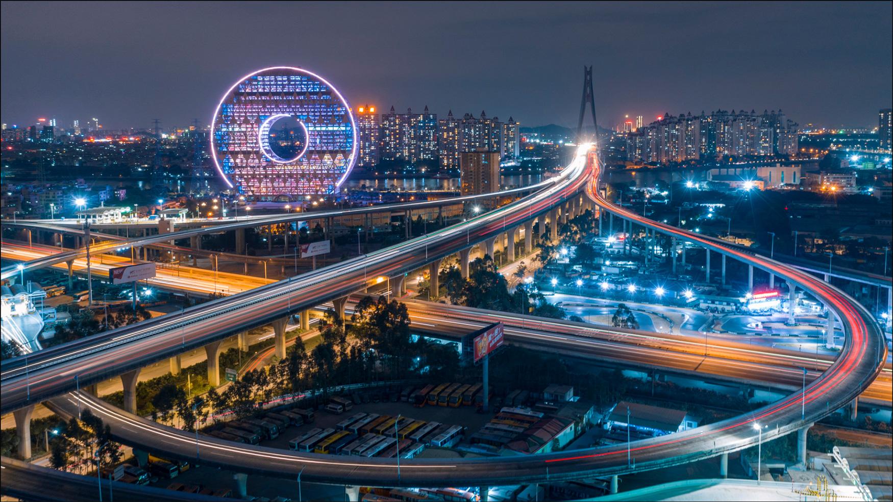 "People's Choice Prize: '""Circle"" Dream Guangzhou', fot. Garrett Liu (Chiny)"