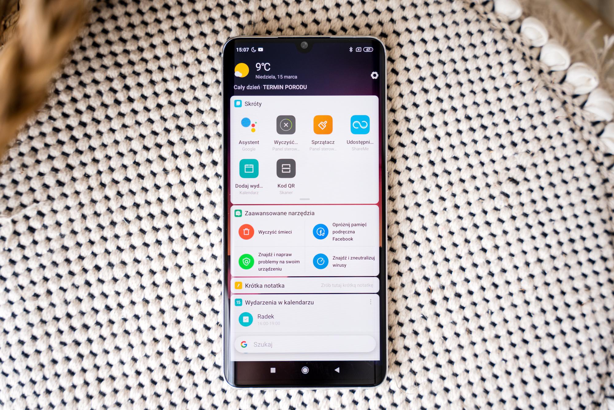 Xiaomi Mi Note 10 opinie