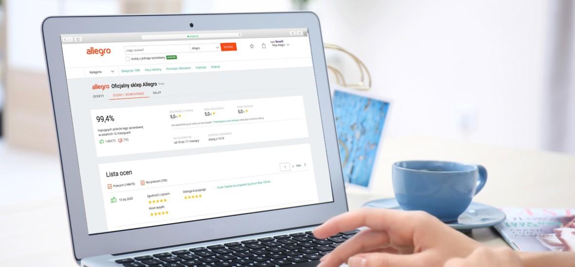 Allegro zmienia regulamin. Nowe metody dostaw dla klientów i bat na nieuczciwych sprzedających
