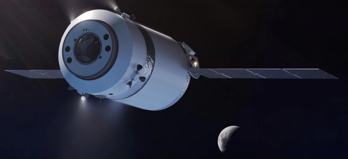 SpaceX będzie woził dla NASA ładunki na Księżyc