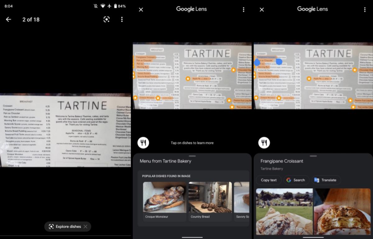 google maps google lens