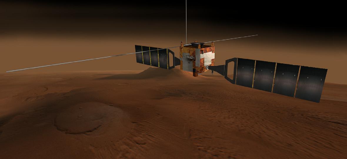 Koronawirus dotknął Marsa. Sondy na kwarantannie