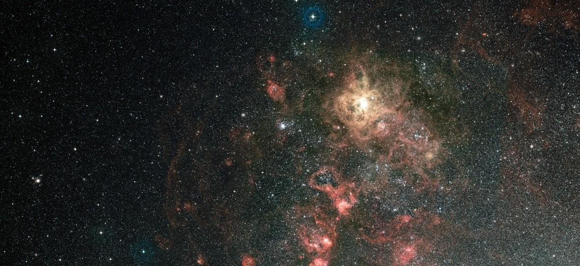 Hubble sprawdza, jak powstają masywne gwiazdy w Mgławicy Tarantula