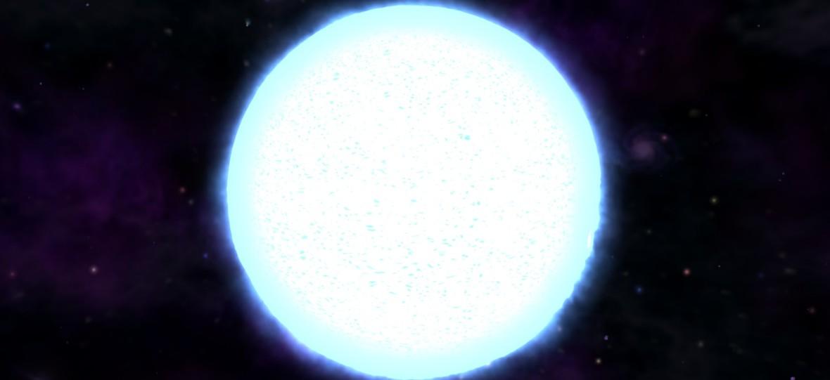 Niebieski superolbrzym doprowadził do eksplozji supernowej SN1987A