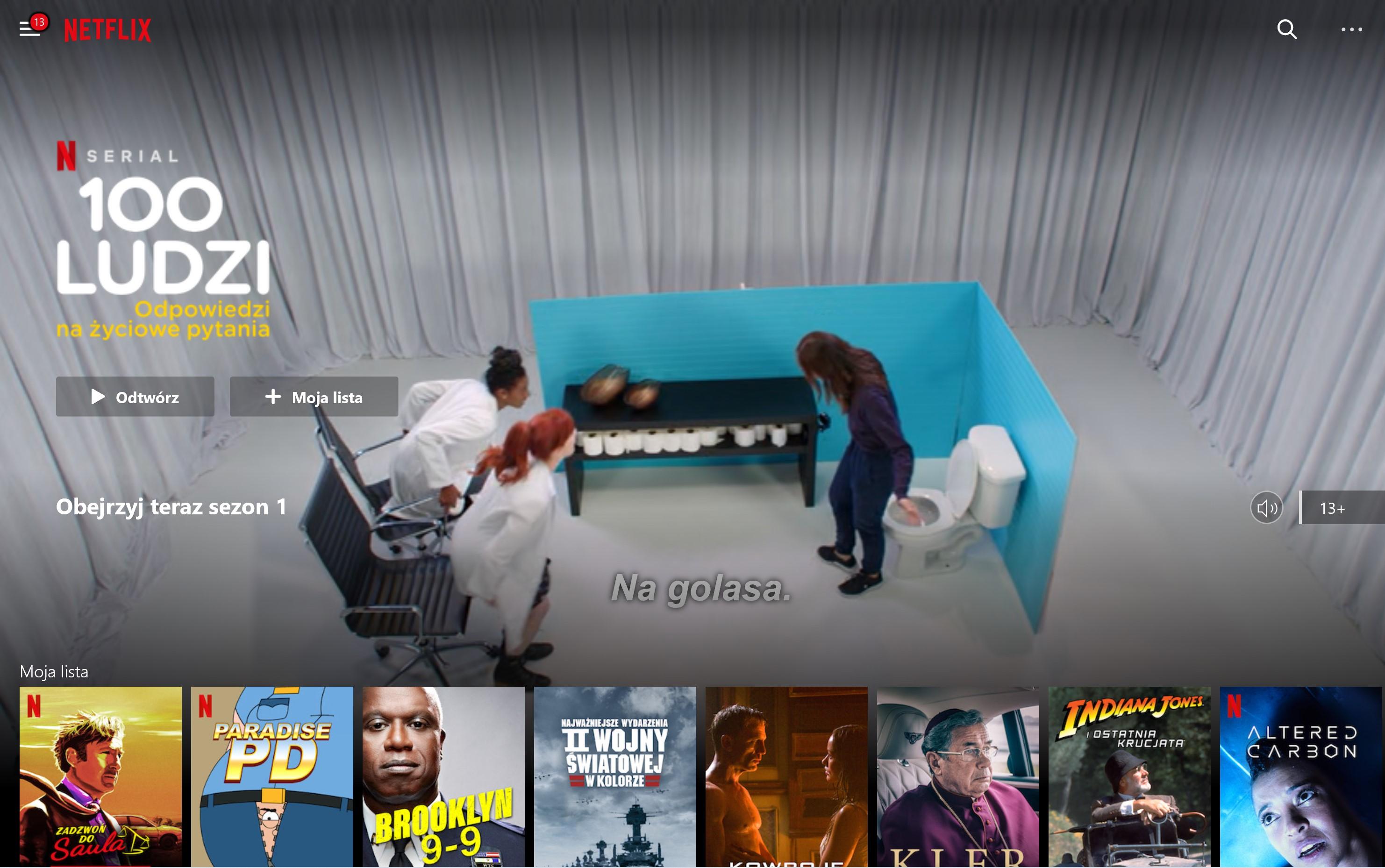 vod liczba filmów seriali