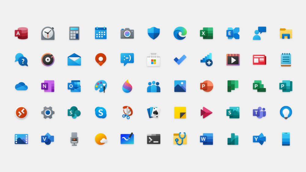 windows 10 nowe ikony