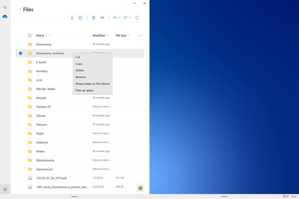 windows 10x menadżer plików