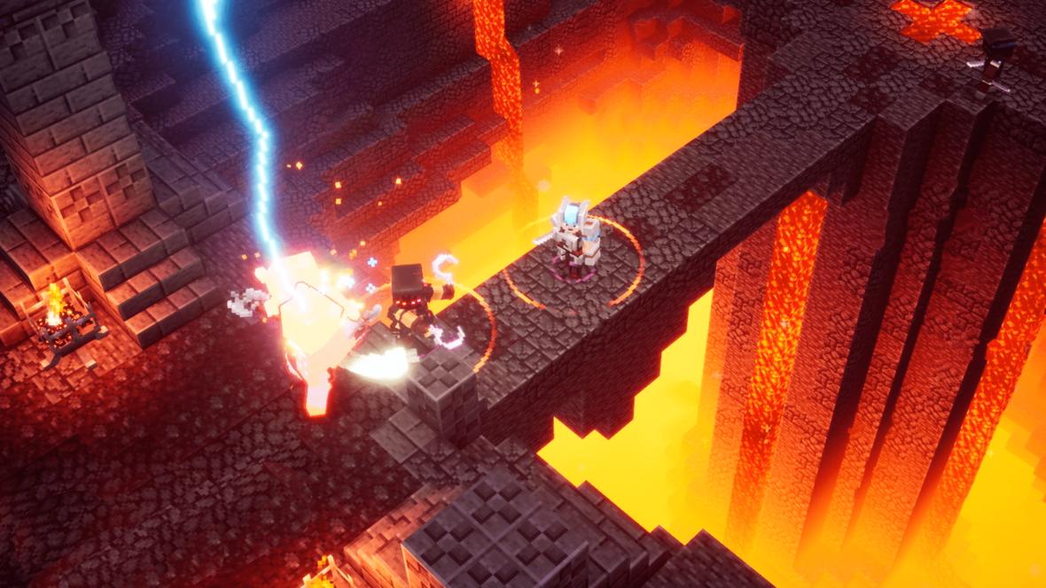 Minecraft Dungeons to Diablo w świecie bloków. Widzieliśmy prezentację rozgrywki
