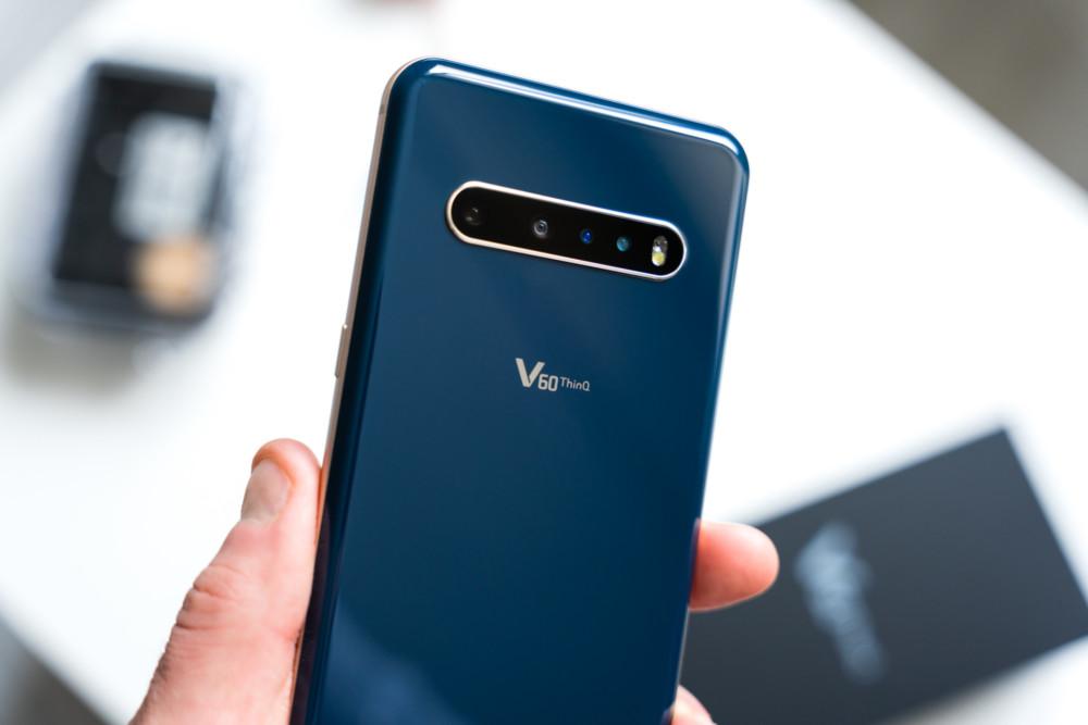 LG V60 opinie
