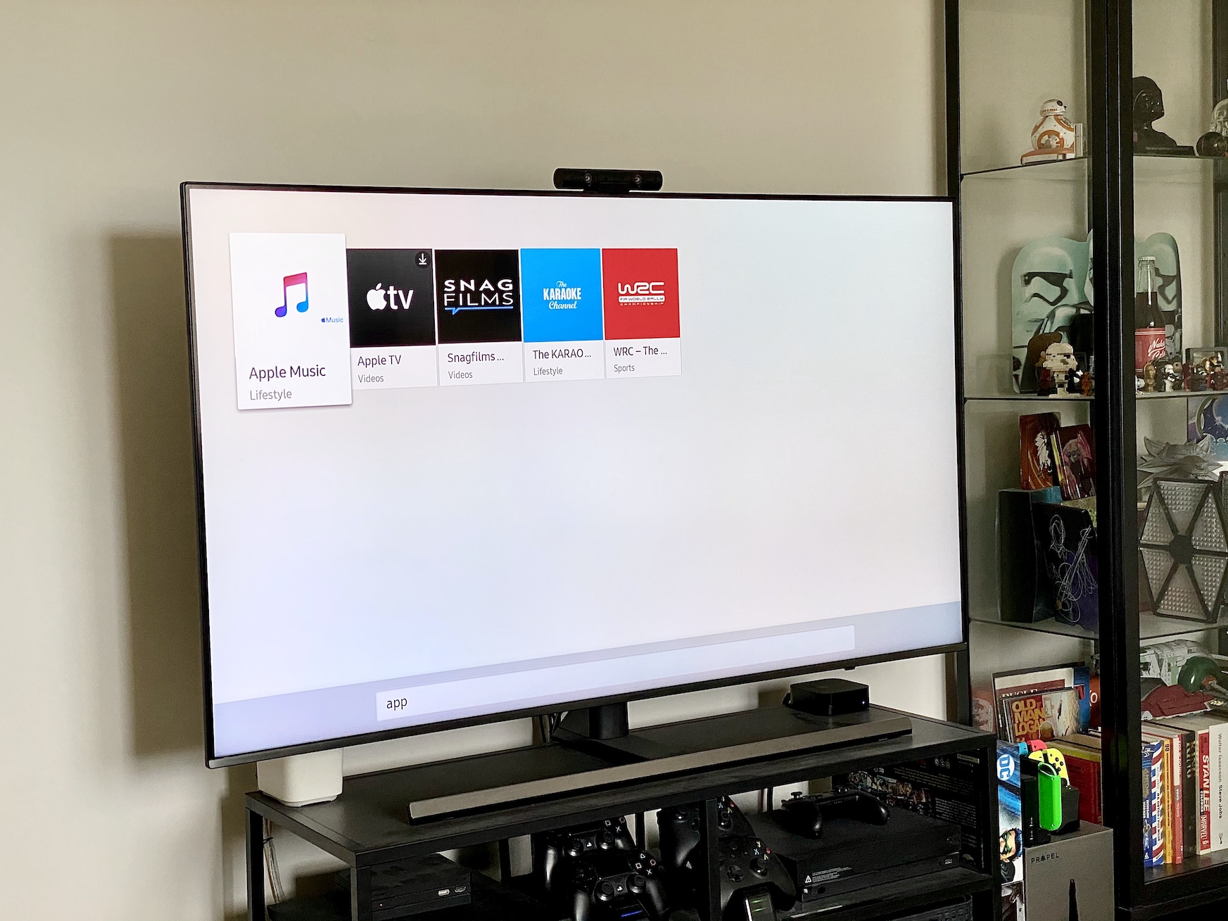 apple music samsung smart tv aplikacja