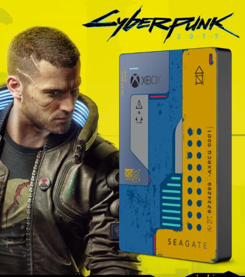 dysk seagate cyberpunk 2077