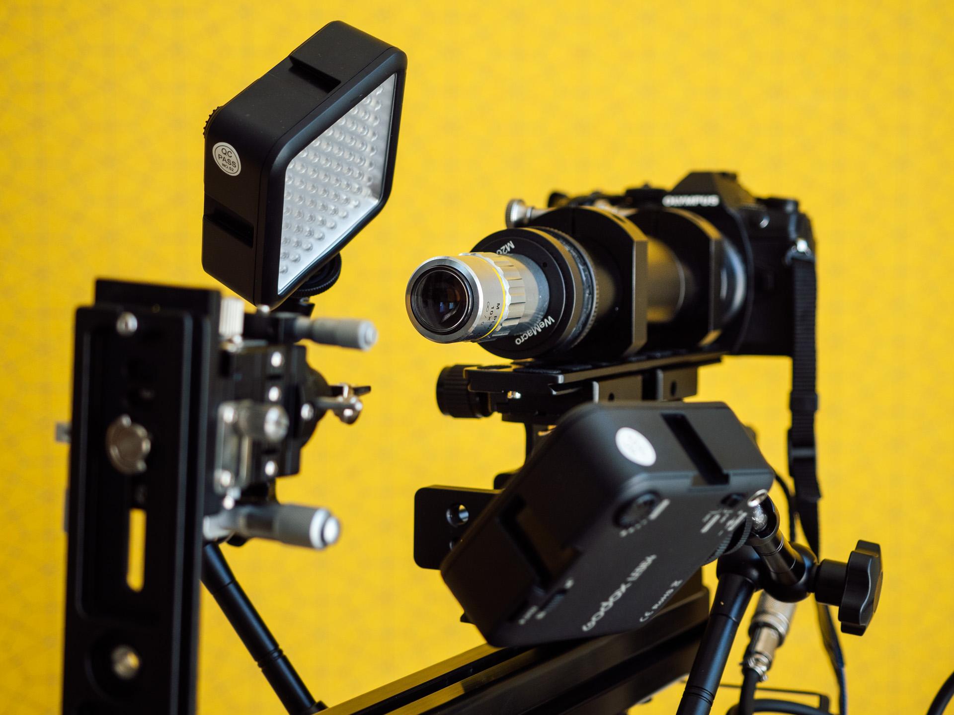 Profesjonalny sprzęt do zdjęć makro w domu, fot. KB