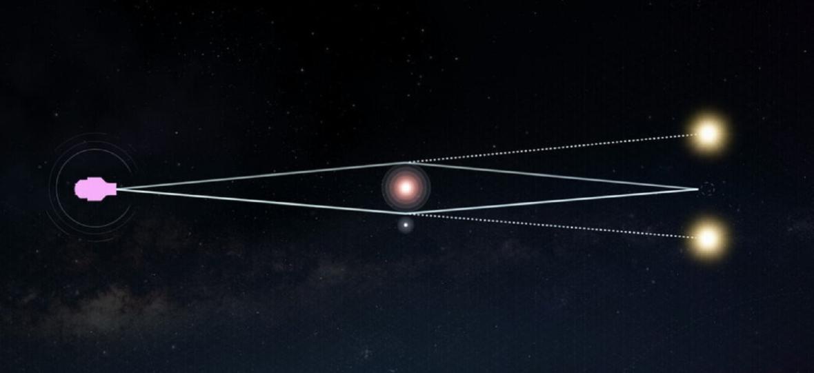 WFIRST będzie odkrywał egzoplanety w centrum Drogi Mlecznej. Pomoże mu zniekształcona czasoprzestrzeń