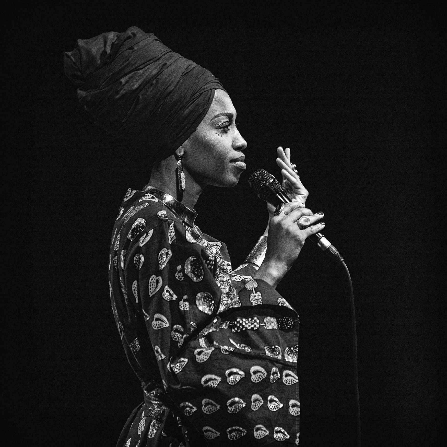 Jazzmeia Horn, fot. Adam Krause