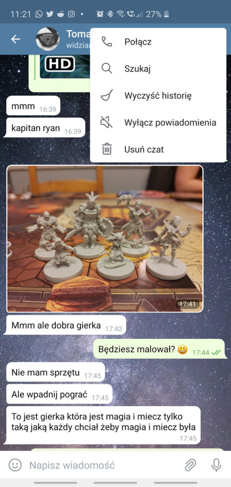 telegram po polsku