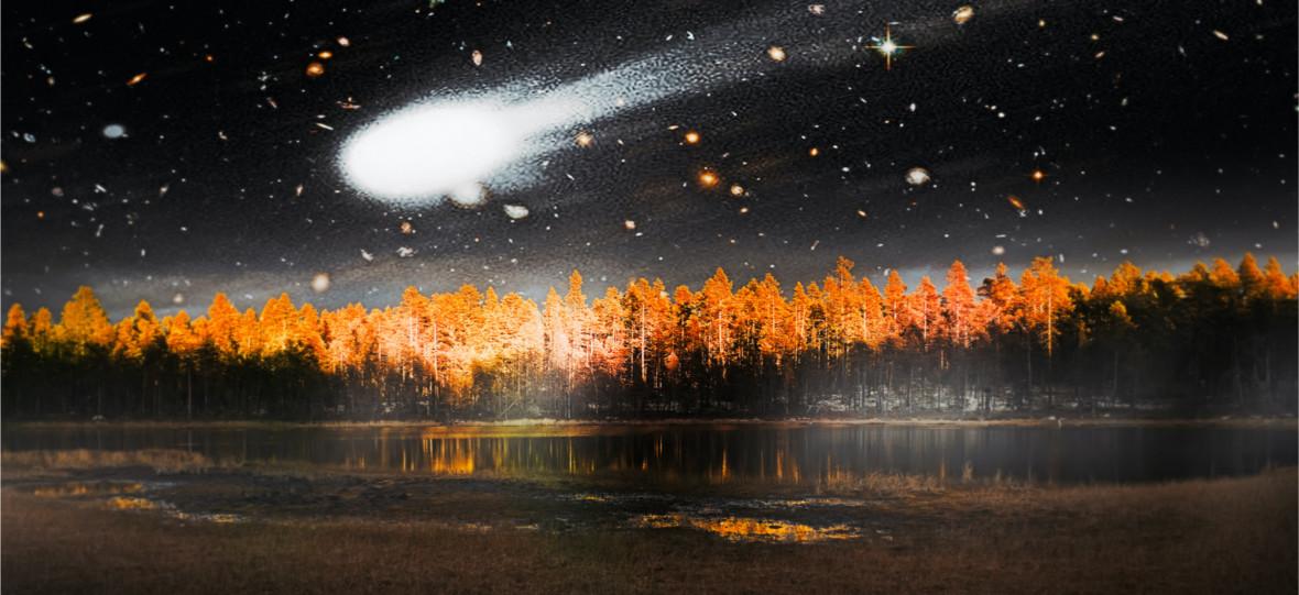 Kula ognia na niebie i powalone tysiące drzew. To tylko planetoida, która odbiła się od naszej atmosfery