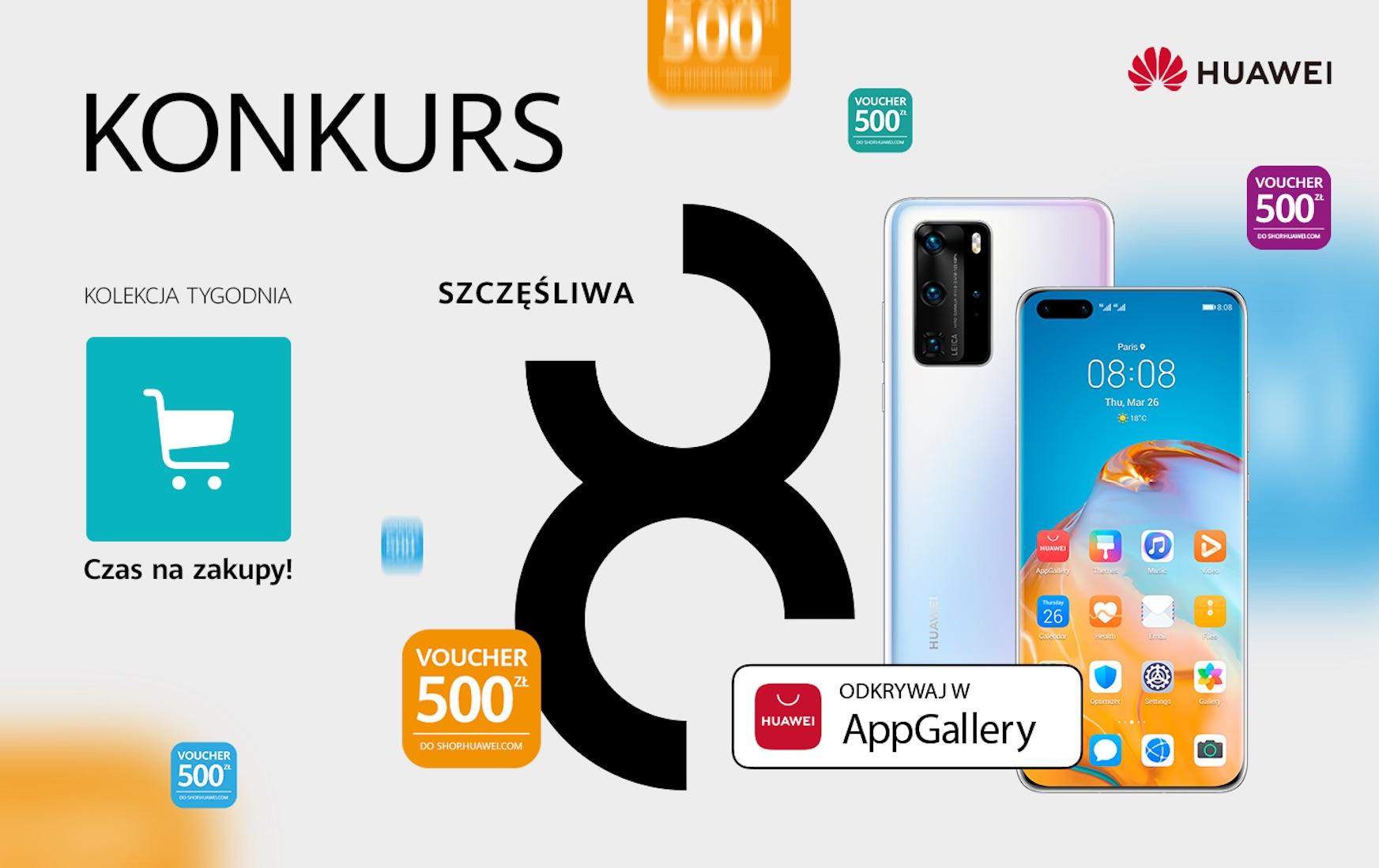 konkurs Huawei Szczesliwa 8