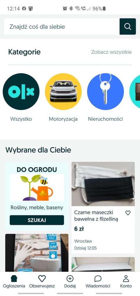 olx.pl nowy wygląd logo