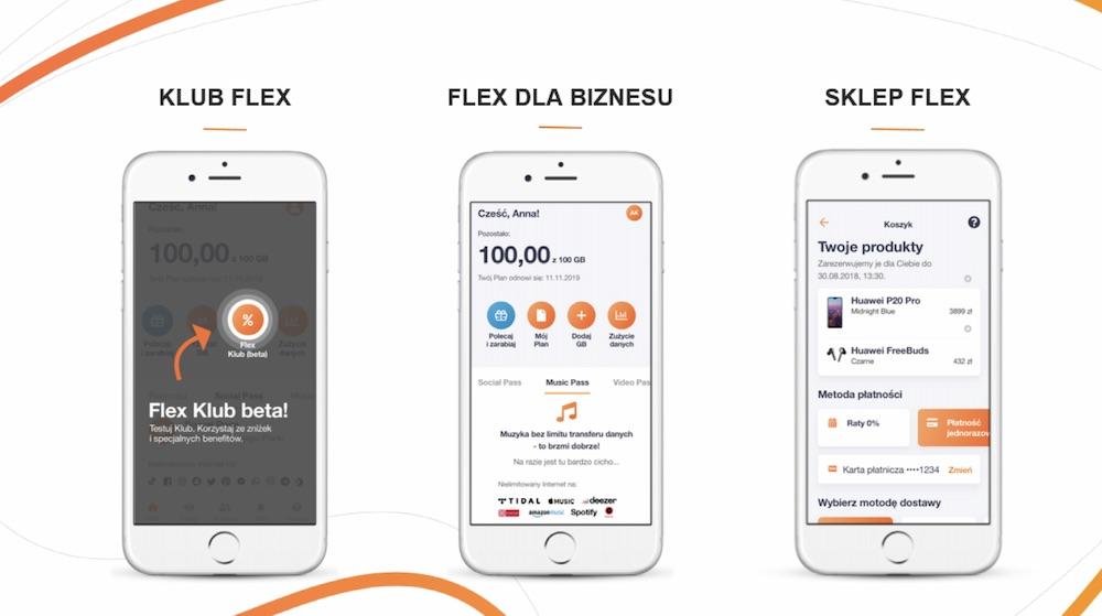 orange flex klub biznes sklep